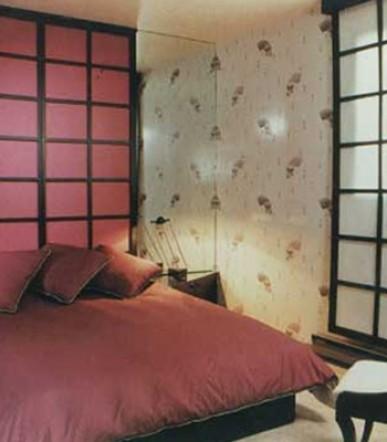 ecran-sohji-chambre-lit-rose